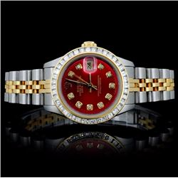 Rolex DateJust Ladies 1.50ct Diamond Wristwatch