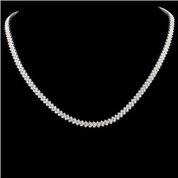 18K Gold 6.00ctw Diamond Necklace