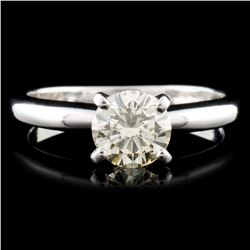 14K Gold 0.81ctw Diamond Ring