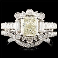18K Gold 1.73ctw Diamond Ring