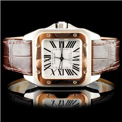 Cartier Santos 100 Wristwatch