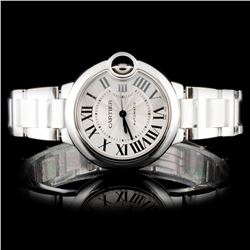 Montre Ballon Bleu de Cartier SS Watch