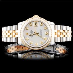 Rolex 31mm DateJust 1.00ct Diamond Watch