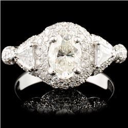 18K Gold 2.03ctw Diamond Ring