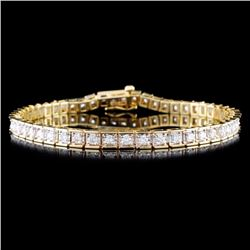 14K Gold 1.48ctw Diamond Bracelet