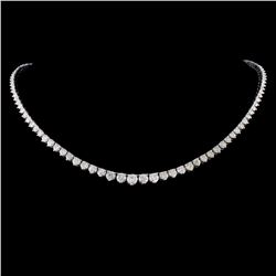 14K Gold 8.60ctw Diamond Necklace