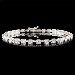 18K Gold 1.50ctw Diamond Bracelet