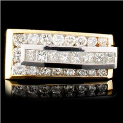 18K Gold 1.56ctw Diamond Ring