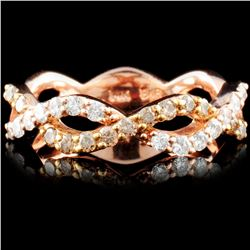 14K Gold 0.50ctw Fancy Color Diamond Ring