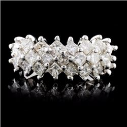 18K White Gold 2.47ct Diamond Ring