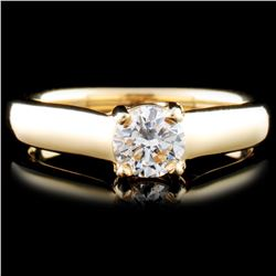 14K Gold 0.46ctw Diamond Ring
