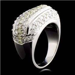 14K Gold 3.15ctw Diamond Ring