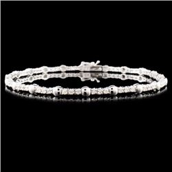18K Gold 1.00ctw Diamond Bracelet