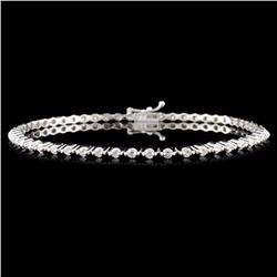 18K Gold 1.42ctw Diamond Bracelet