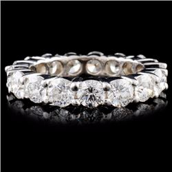 14K Gold 4.36ctw Diamond Ring