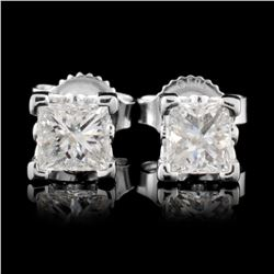 14K Gold 0.64ctw Diamond Earrings