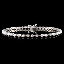 18K Gold 2.00ctw Diamond Bracelet