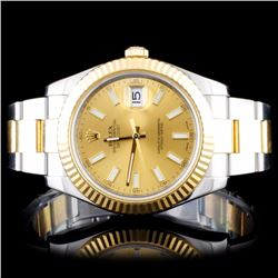 Rolex Two-Tone 41MM DateJust II Wristwatch