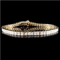 14K Gold 4.12ctw Diamond Bracelet