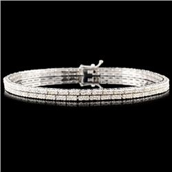 18K Gold 2.10ctw Diamond Bracelet