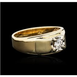 14KT Yellow Gold 0.30ct Solitaire Ring