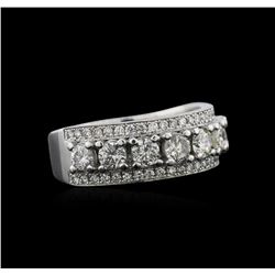 1.62ctw Diamond Ring - Platinum