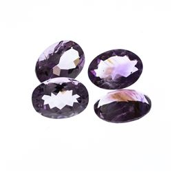47.52ctw. Oval Amethyst Parcel