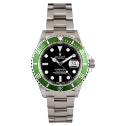 Rolex Stainless Steel Submariner Anniversary Edition Men's Watch