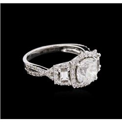 2.94ctw Diamond Ring - 18KT White Gold