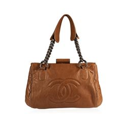 Chanel Day Brown Handbag
