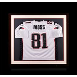 Randy Moss Framed Autographed Jersey