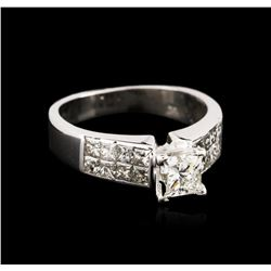 14KT White Gold 1.94ctw Diamond Ring