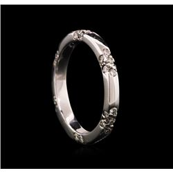 0.40ctw Diamond Ring - 14KT White Gold