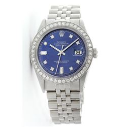 Rolex Stainless Steel 2.00ctw Diamond DateJust Men's Watch