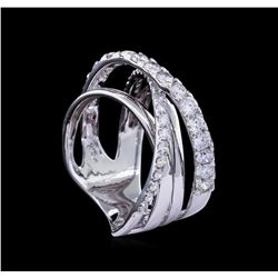 1.55ctw Diamond Ring - 14KT White Gold