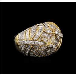 14KT Yellow Gold 1.99ctw Diamond Ring
