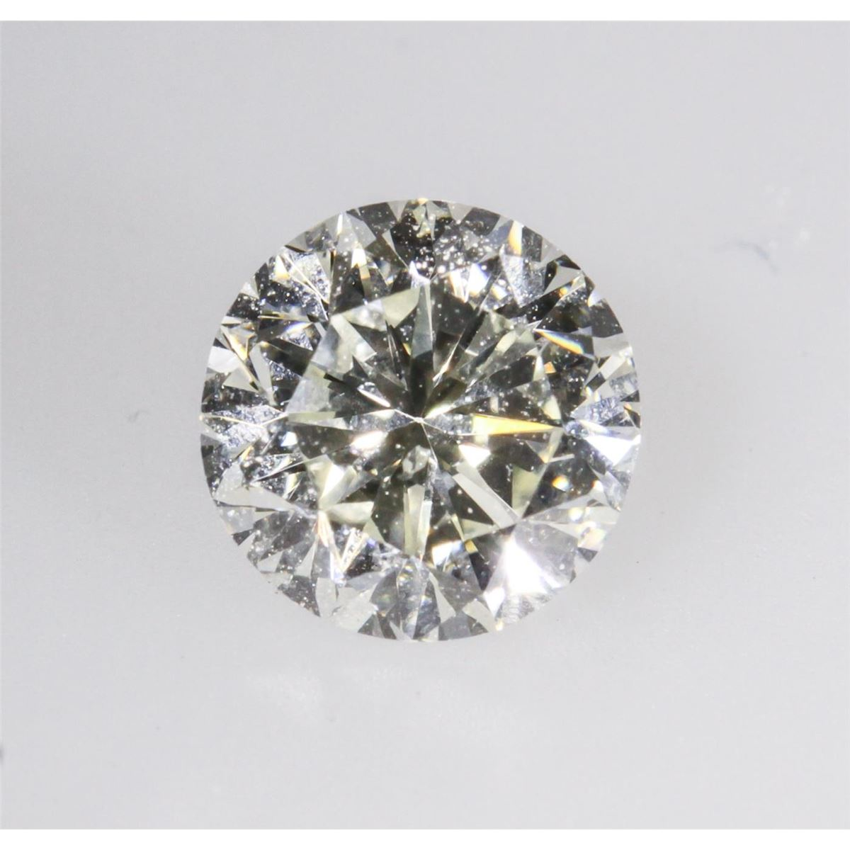 Gia Certified 0 73ct Round Cut Loose Diamond