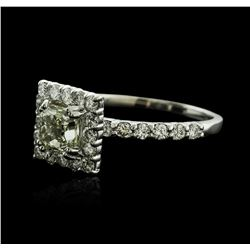 14KT White Gold 1.31ctw Diamond Ring