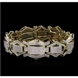 7.50ctw Diamond Bracelet - 10KT Yellow Gold