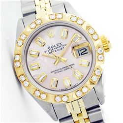 Rolex Two-Tone Diamond Ladies Watch