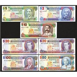 Central Bank of Barbados. 2000 ND Issue.