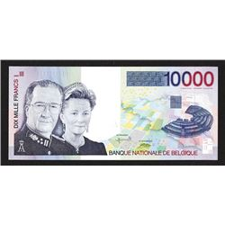 National Bank van Belgie. 1995-2001 ND Issue. Last Franc Issue.