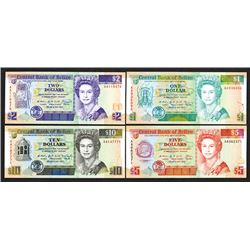 Central Bank of Belize. 1990 Issue.