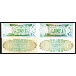 Government of Belize and Central Bank of Belize issues.