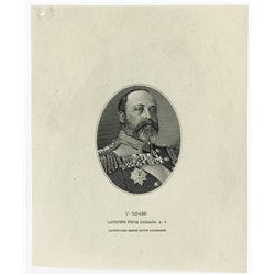 Canada. Portrait of Edward VII.