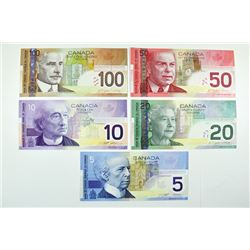 Bank of Canada. First dates of last paper issue.