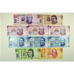 Banco de Mexico. 2004-06 Polymer and Paper Issue.