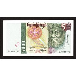 Banco de Portugal. 1995-97 Issue.
