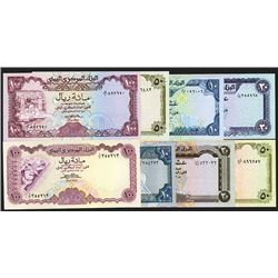 Central Bank of Yemen lot of 36 Different 1973 to 1993 Issues.