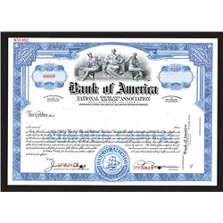 Bank of America, National Trust and Savings Association, ND (ca.1920's), Specimen Stock Certificate.